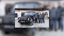 Schwarzenegger gets an electric G-Class from his home country