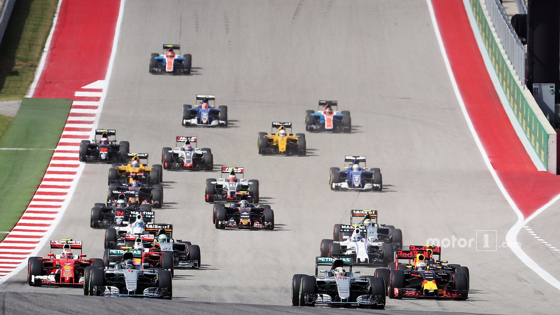 F1 United States Grand Prix – Race Results