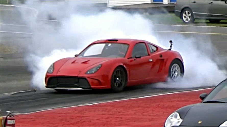 Kit car with Tesla powertrain does quarter mile in 10.1 seconds