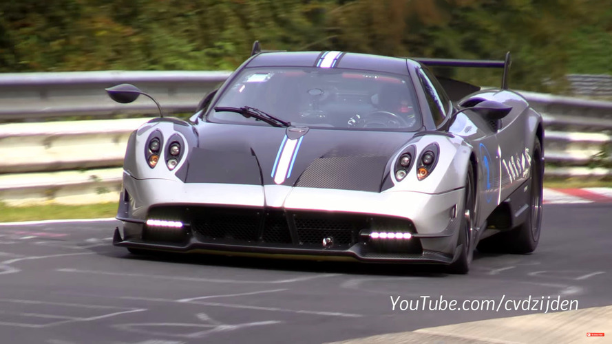 Pagani Huayra BC and Marc Basseng could break 'Ring record