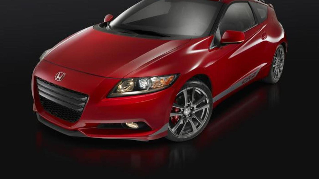 Honda CR-Z with supercharger kit