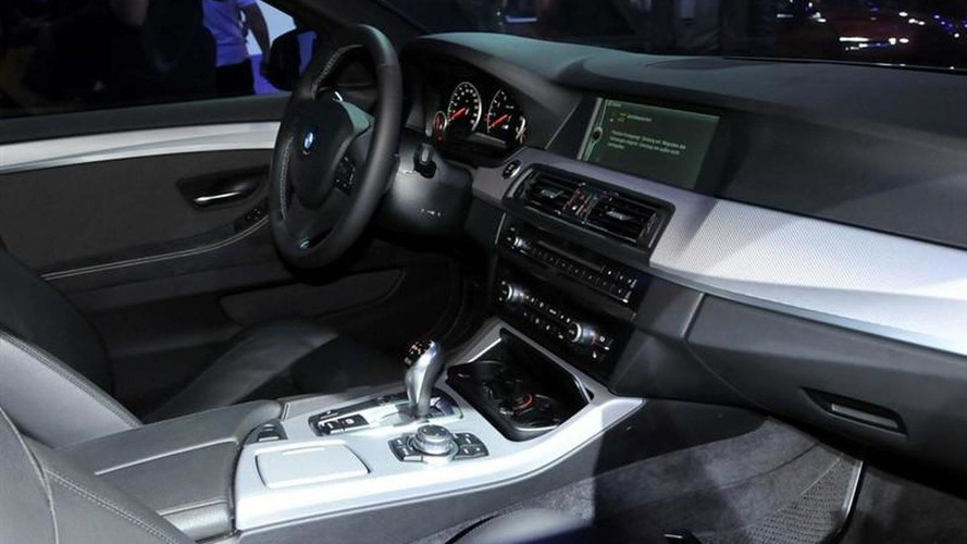 BMW M5 Concept first interior photos surface