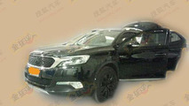 Citroen DS X7 spotted without disguise