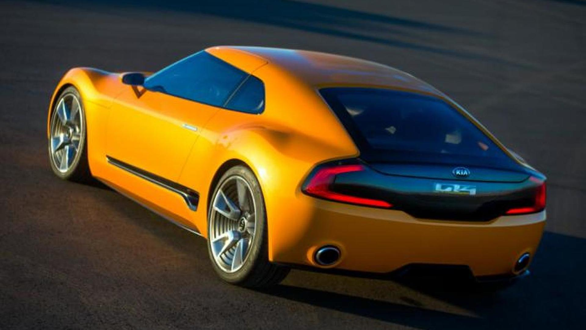 Kia GT4 Stinger production version due late this year - report