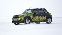 2014 MINI Cooper Convertible spied near the Arctic Circle