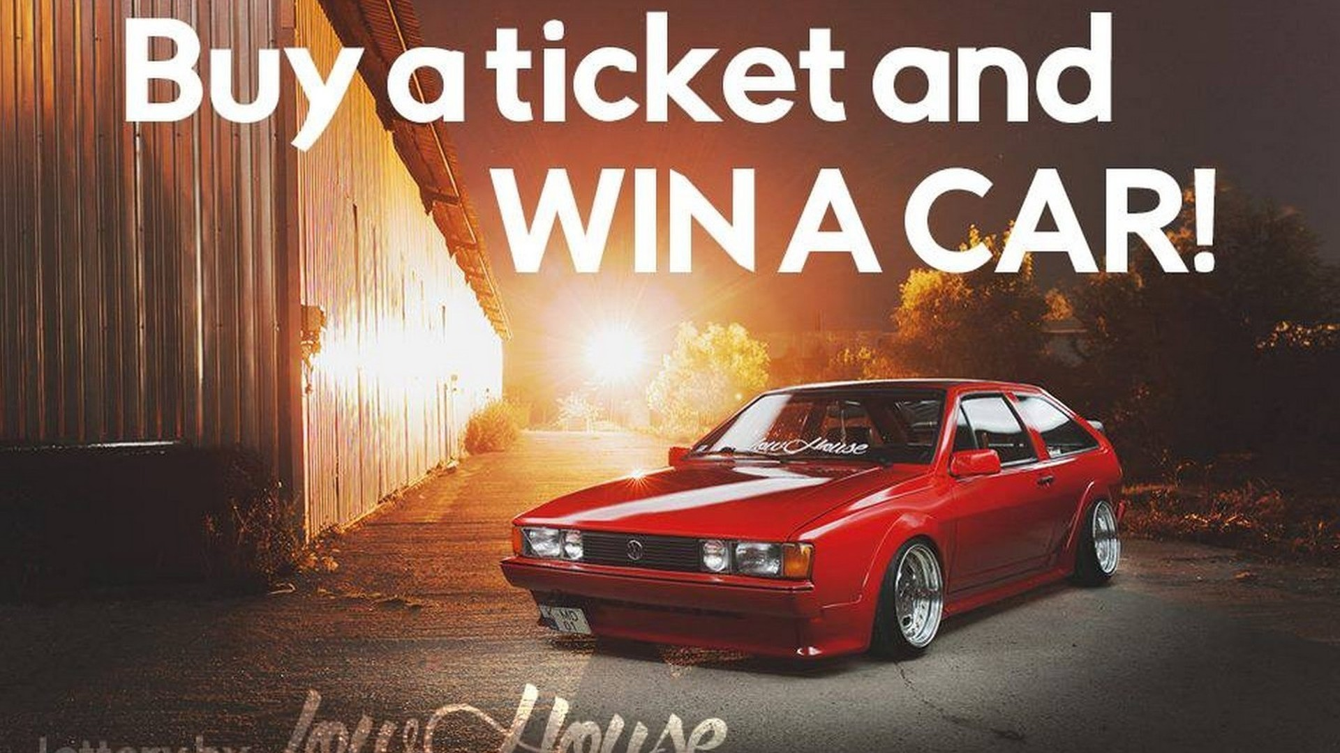 Owner raffles restored 1985 VW Scirocco to earn €5,000