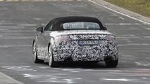 2017 Audi TT RS Coupe, Roadster spied at the Nürburgring [34 pics]