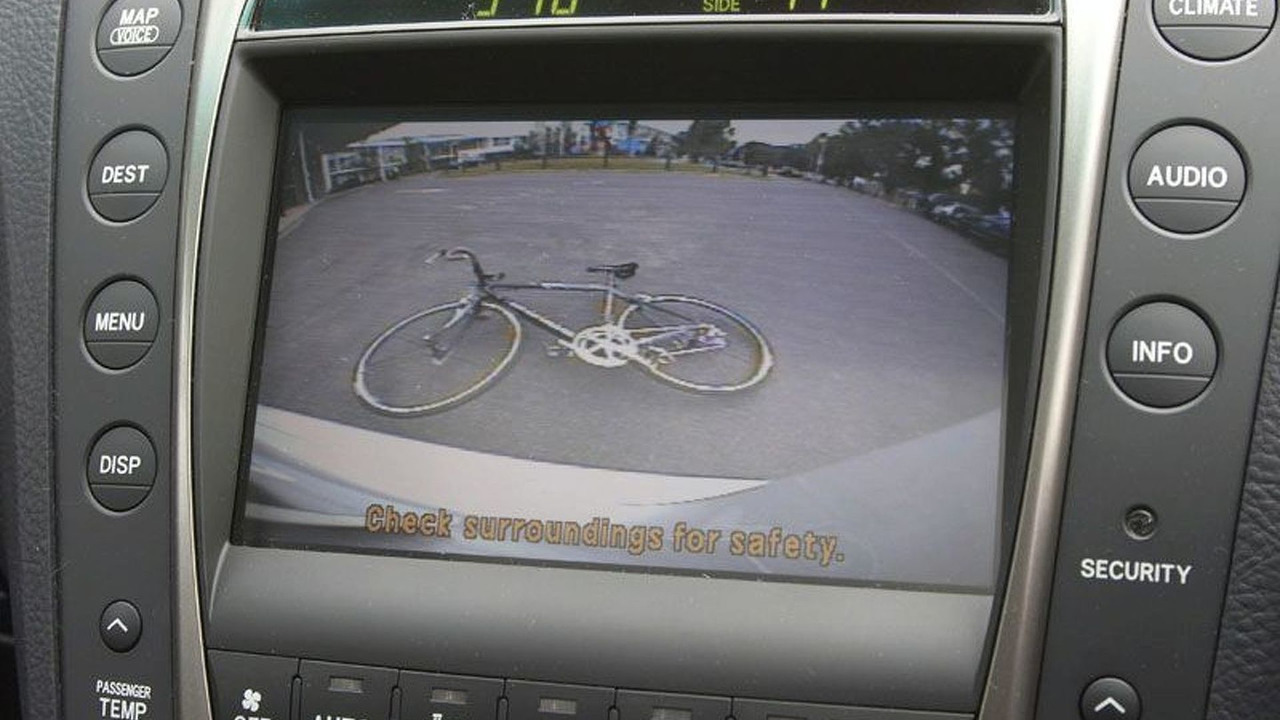 Lexus Rear View Camera