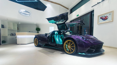 Pagani Huayra Dinastia first photos emerge