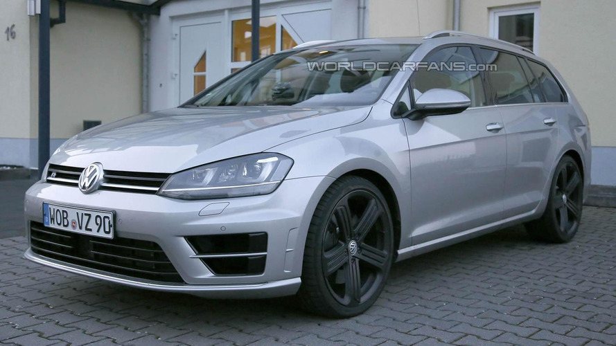 Volkswagen Golf R Estate spied for the first time, production still pending