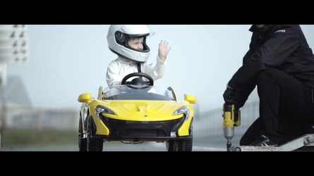 McLaren P1 Ride-on Edition Video