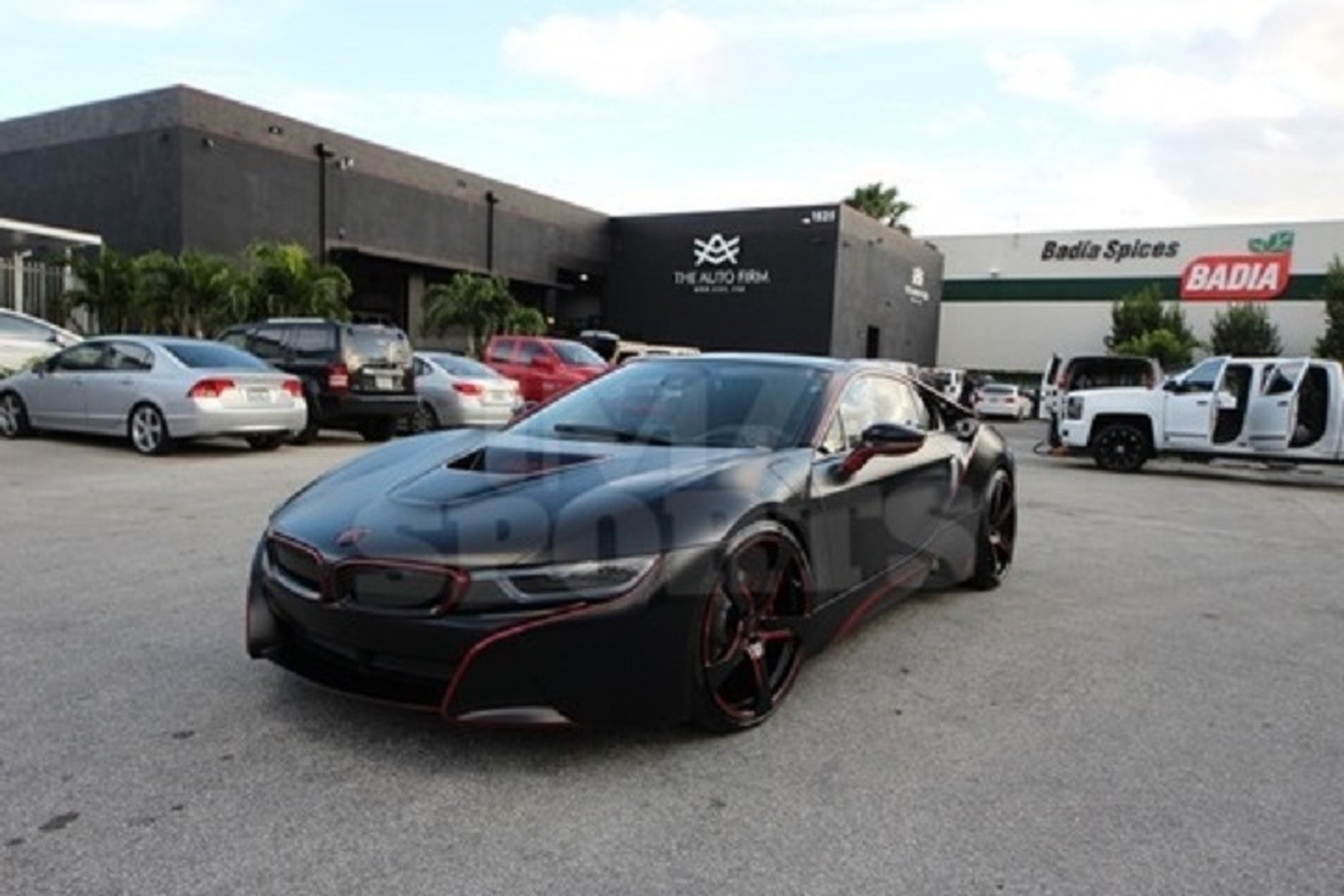 Red Sox Player Spends $45K to Make His BMW  i8 Glow