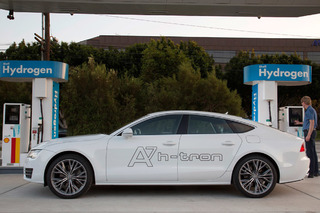 Audi A7 H-Tron Previews a Sexy Future for Hydrogen