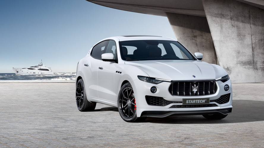 Maserati Levante gets heavy dose of Startech steroids for Geneva