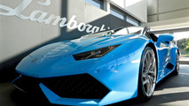 Lamborghini Washington displays Huracan Spyder