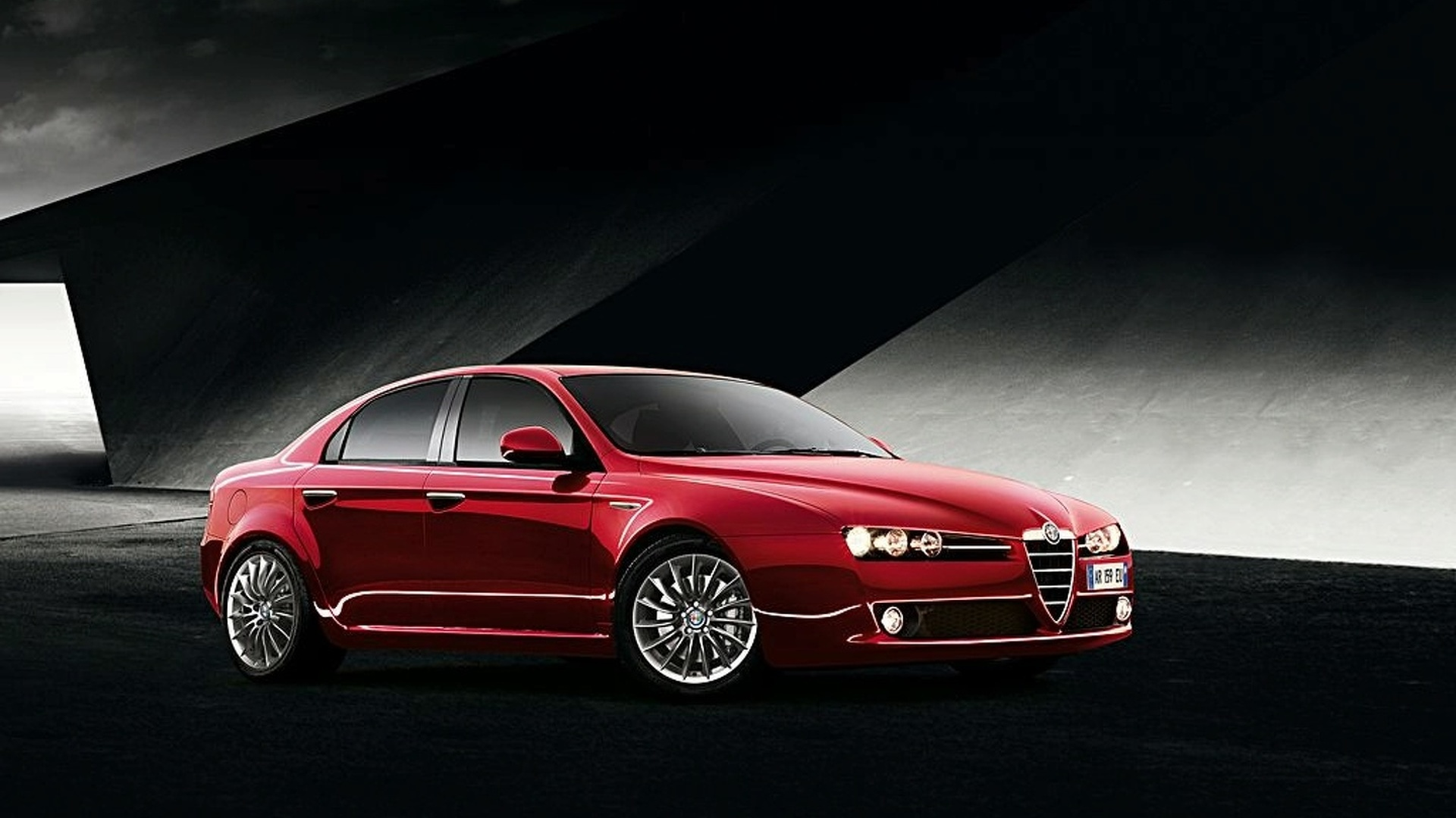 2009 Alfa 159 Surfaces Ahead of Geneva Unveiling