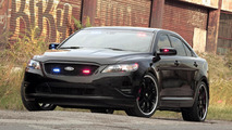 Ford Taurus Police Interceptor Stealth Concept for SEMA
