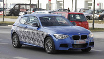 SPIED: 2012 BMW 135i hatchback M-Sport sheds more disguise