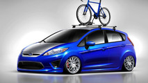 Ford Fiesta & Taurus SHO previewed for SEMA