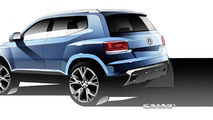 Volkswagen Taigun concept returns in additional photos and video