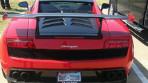 15-year-old girl goes to school in a Lamborghini Gallardo LP570-4 Super Trofeo Stradale
