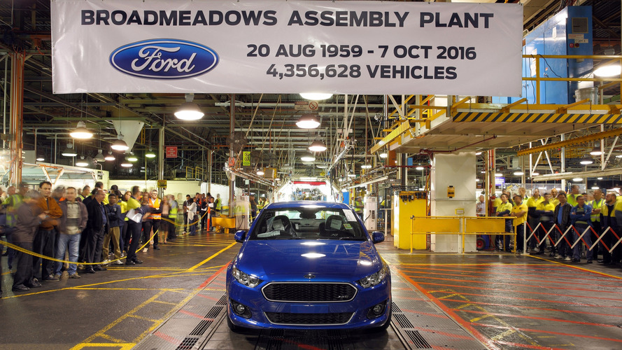 Ford Falcon, Holden Cruze production ends in Australia