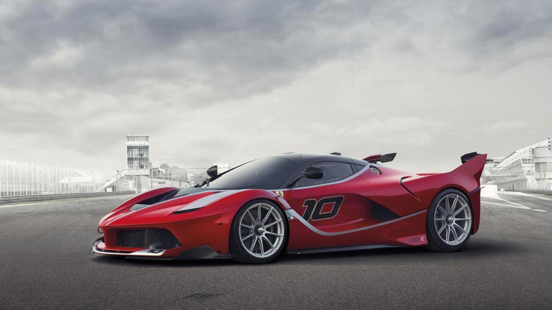 Ferrari probably planning a more hardcore FXX K Evoluzione version