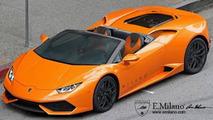 Lamborghini Huracan Spyder rendered once again