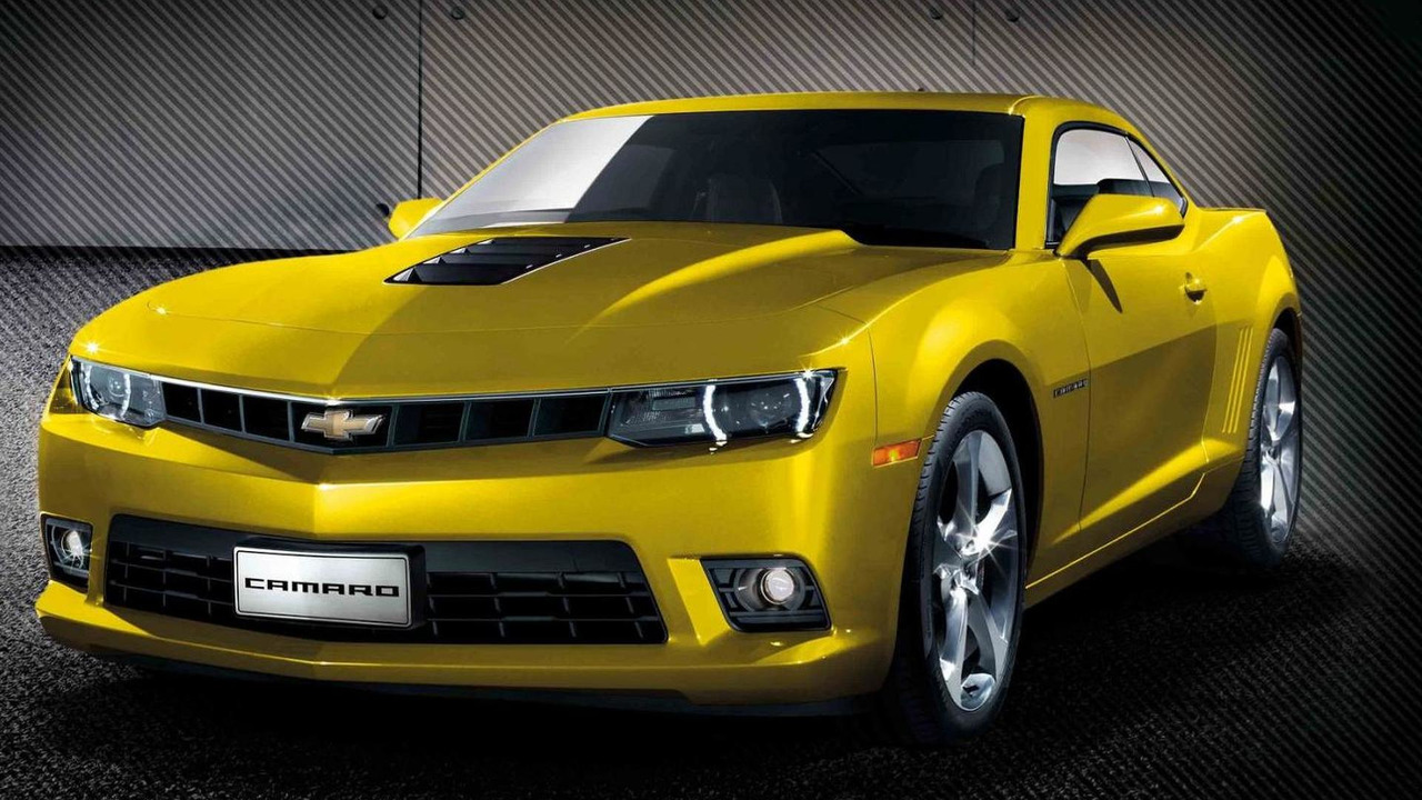 2015 Chevrolet Camaro RS Limited Edition (China)