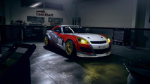 Stripped out Opel GT with LS3 engine revealed