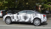 2016 Maserati Levante mule spied up close