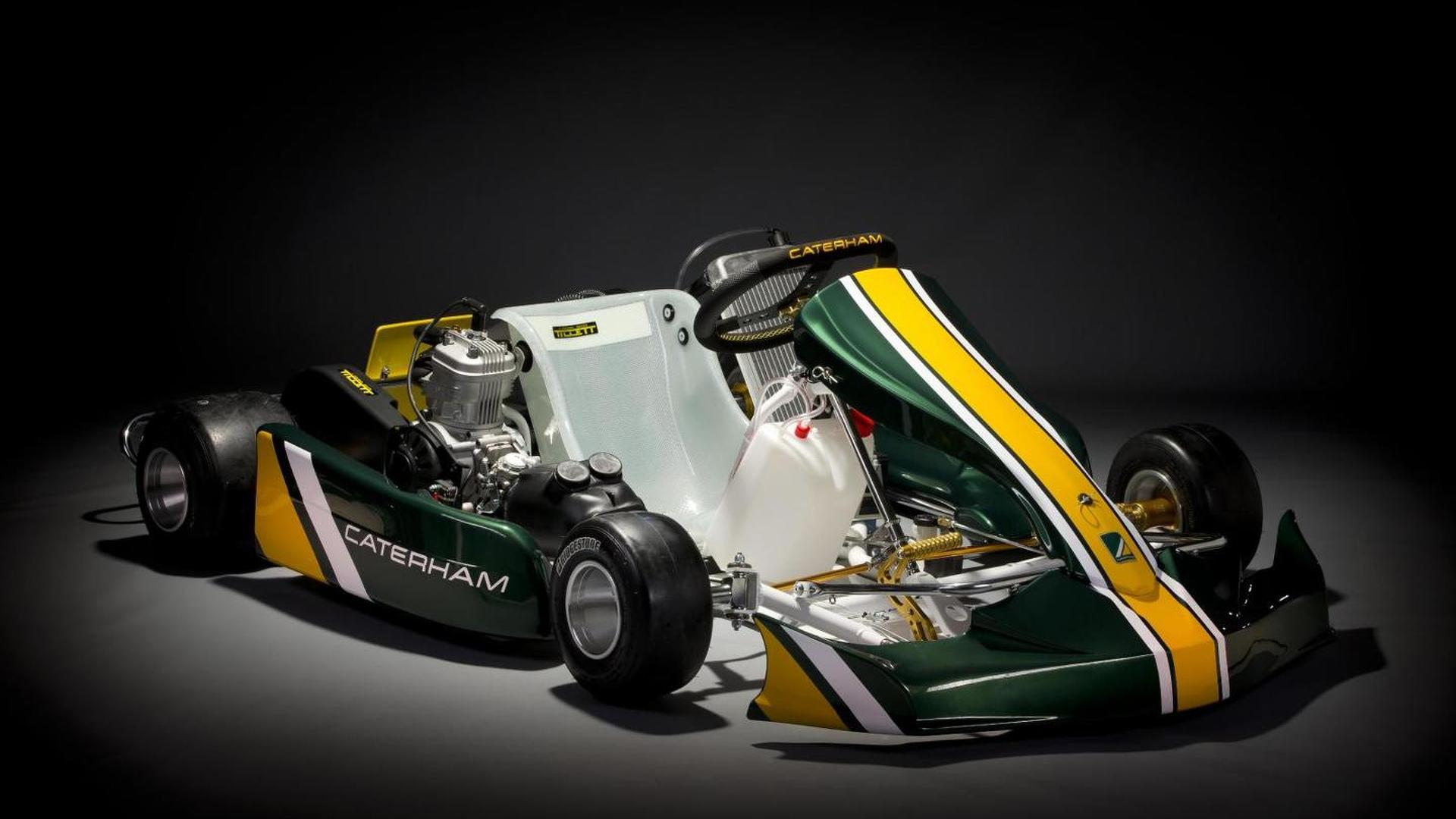 Caterham preparing affordable TAG 125 karting championship in UK