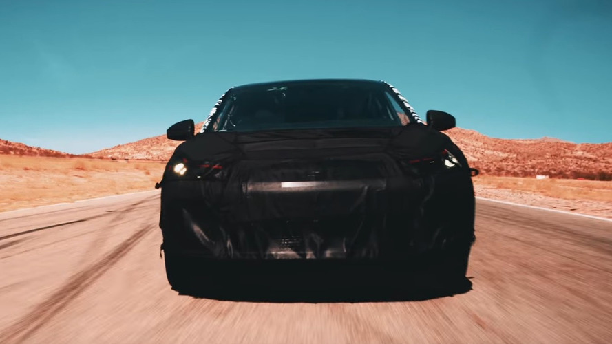 Faraday Future electric SUV goes testing in the desert