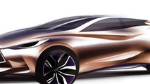 Infiniti Q30 Concept teased ahead of IAA reveal