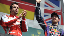Alonso 'fighting Vettel', not just Newey in 2013