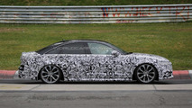 Facelifted Audi S6 spied testing on the Nurburgring