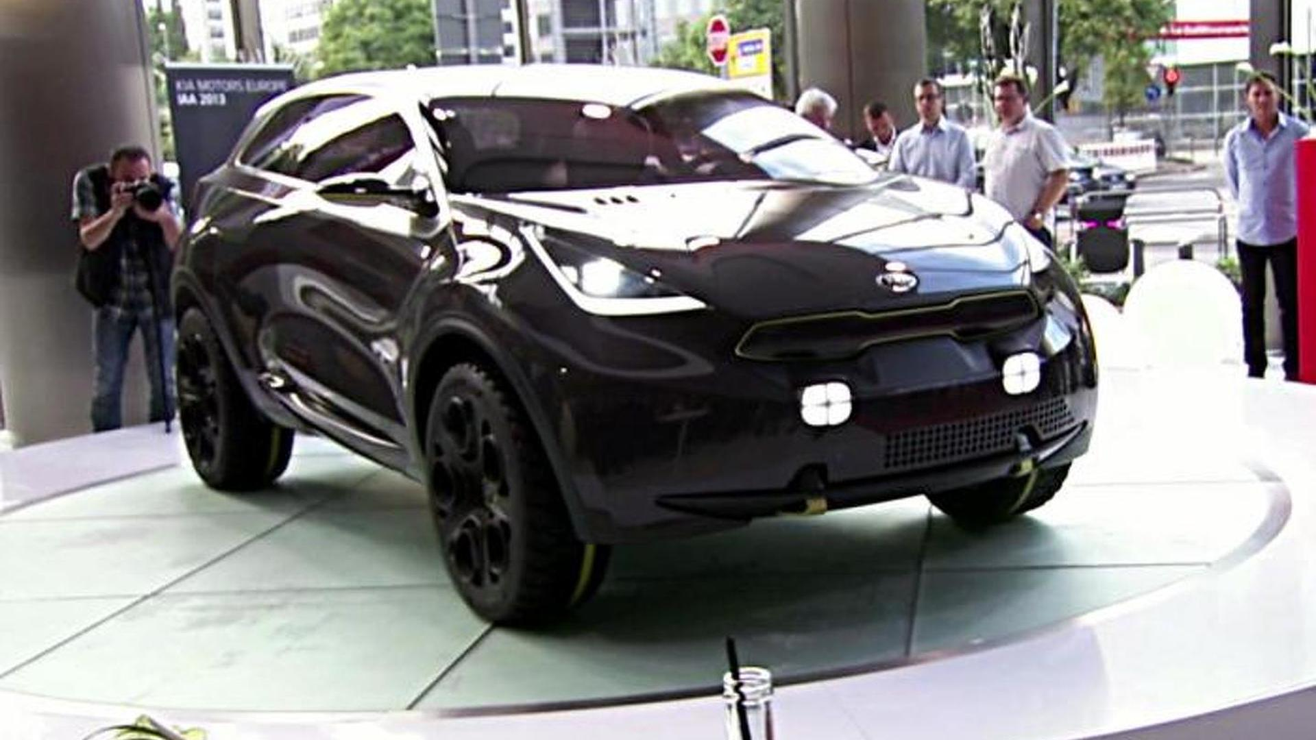 Kia crossover hybrid coming within two years