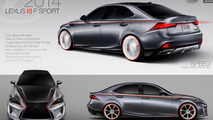 Lexus IS by Guanghao Huang for IS Design Challenge 21.8.2013
