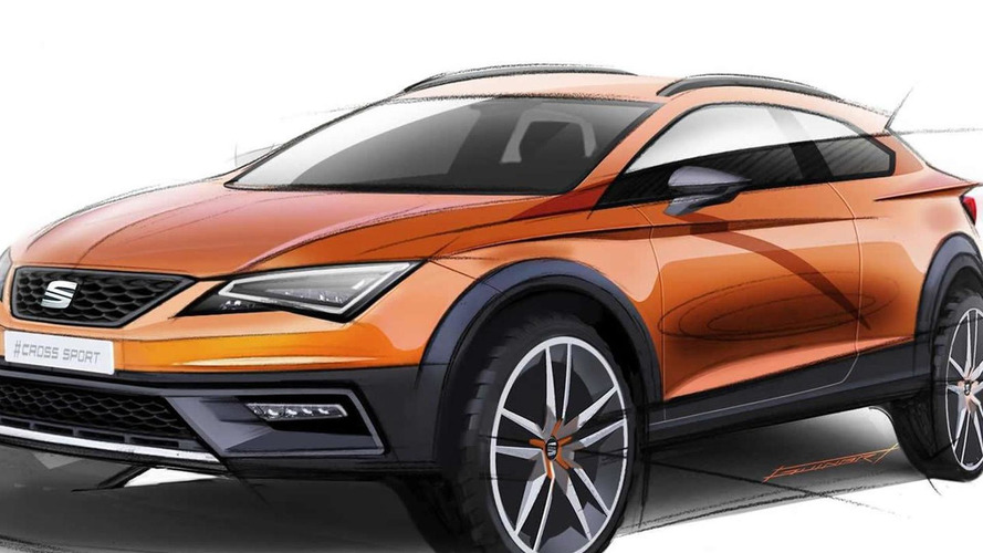 SEAT teases Leon Cross Sport ahead of IAA reveal
