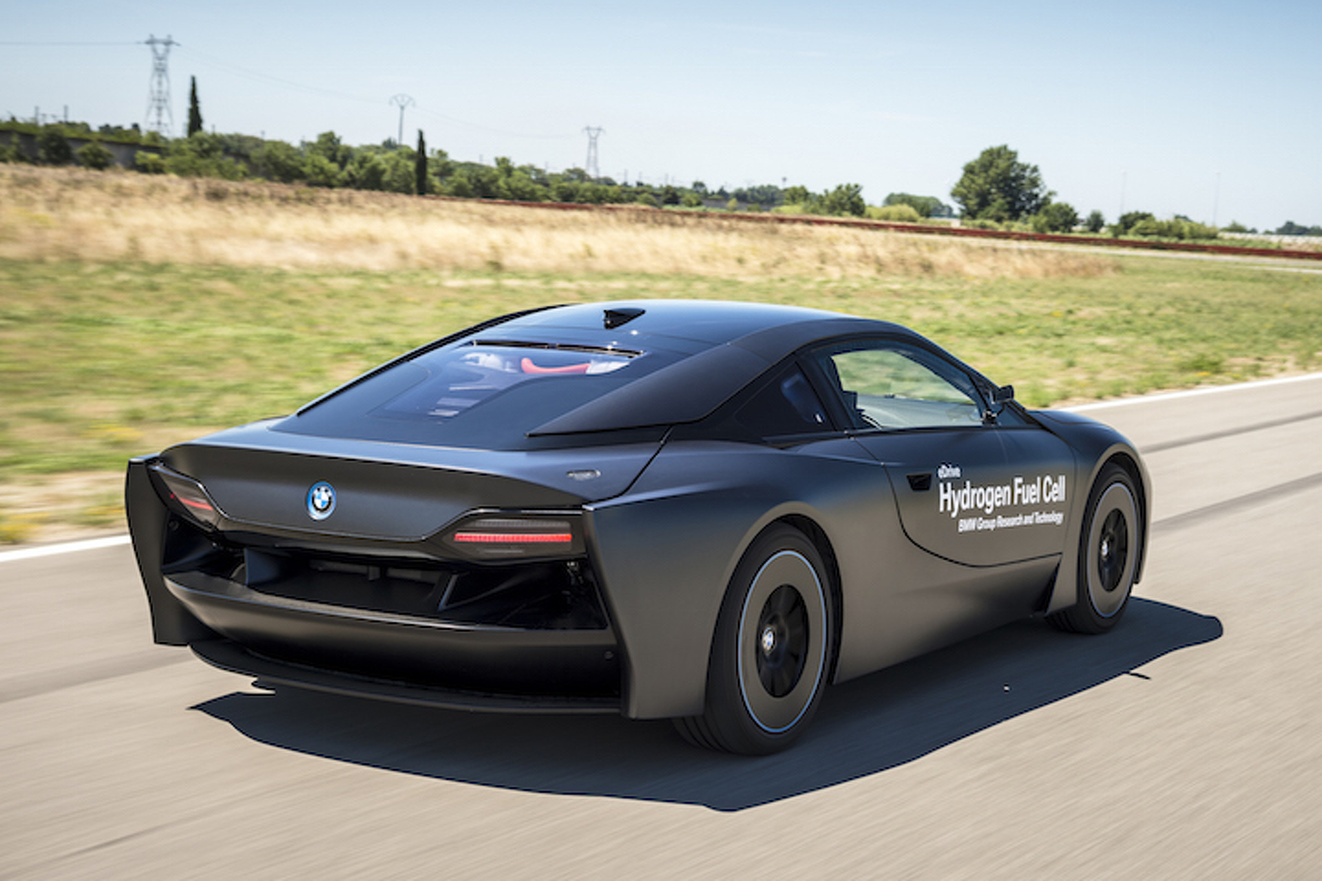 This Weird Looking BMW i8 Runs on Hydrogen