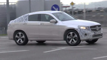 Mercedes-Benz GLC Coupe plug-in hybrid spy photo