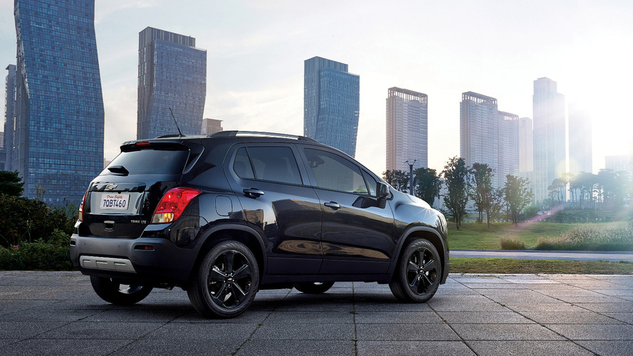 2016 Chevy Trax Midnight Edition announced