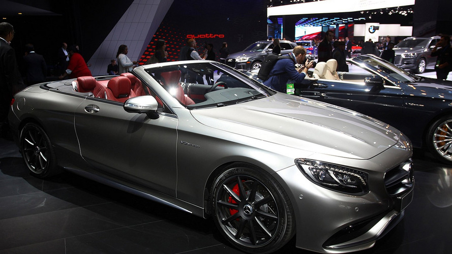 Mercedes-AMG S63 4MATIC Cabriolet Edition 130 graces Detroit