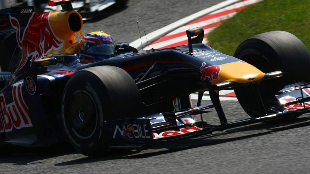 Mark Webber (AUS), Red Bull Racing, RB5, Japanese Grand Prix, Saturday Practice, Suzuka, Japan, 03.10.2009