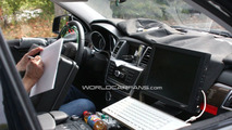2012 Mercedes M-Class first interior spy photos