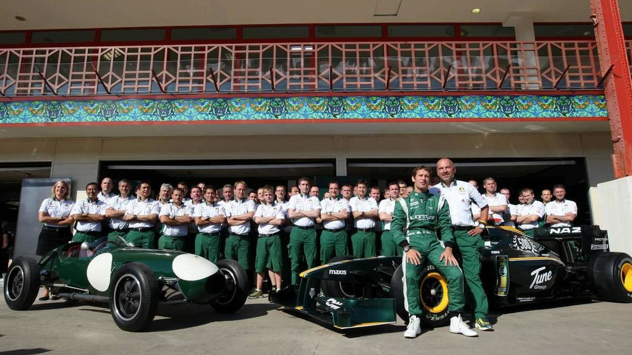 Lotus Type 12 and Lotus F1 Team, Mike Gascoyne (GBR), Lotus F1 Team, Chief Technical Officer, Jarno Trulli (ITA), Lotus F1 Team, 24.06.2010 Valencia, Spain
