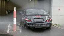 Second Generation 2011 Mercedes CLS First Spy Shots