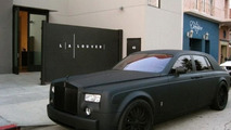 Matte Black Rolls-Royce Phantom Menace