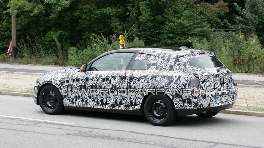 2011 BMW 1-Series three-door spied for first time - low, long and sleek