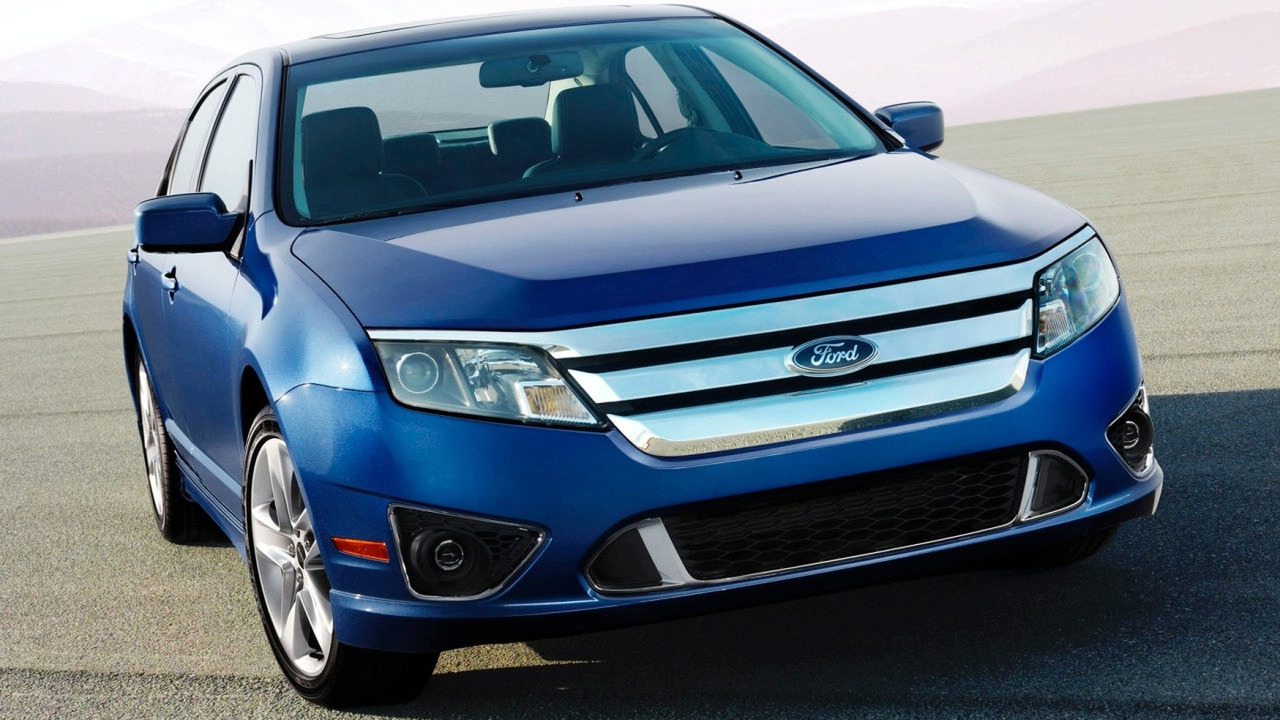 2010 Ford Fusion facelift